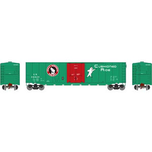 Roundhouse 15727 GN 50' Plug Door Smooth Side Box #36849 HO