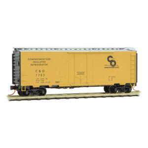 Micro-Trains 021 00 600 C&O 40' Plug Door Box Car # N scale