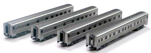 Kato N Scale 106-6003 Santa Fe Super Chief 4-car set