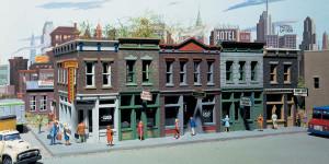 Walthers Cornerstone 933-3028 Merchant's Row I HO