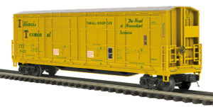 MTH O scale 20-93615 Illinois Terminal 55' All Door Box Car #7823