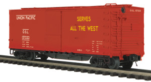MTH O scale 20-93590 Union Pacific 40' USRA Double Sheathed Box Car #137226