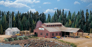 Walthers Cornerstone 933-3236 Mountain Lumber Co. Sawmill N scale