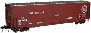 ATLAS O 3004508-2 MP Missouri Pacific 50' PS-1 Plug Door Box Car w/o rook walk #252175 2-rail