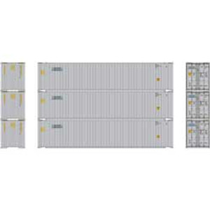 Athearn RTR 24552 Gateway 45' Container 3-pack HO