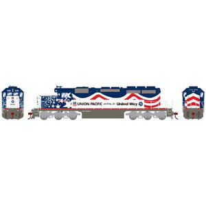 Athearn RTR 71529 UP/United Way SD40-2 DC #3300 HO