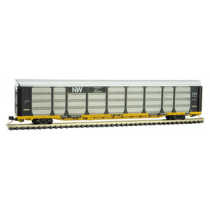 Micro-Trains 111 00 330 NW Norfolk & Western 89' tri-level Auto Rack #800795 N scale