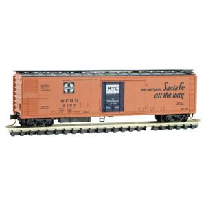 Micro-Trains 069 00 220 AT&SF 51' Rivet Side Mechanical Reefer #2103 N scale