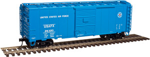Atlas O TM 2002220-2 U.S.A.F. 40' Sliding Door Boxcar #26480 3-rail