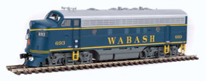 Walthers Mainline 910-19943 Wabash F7a DCC/Sound #693 HO
