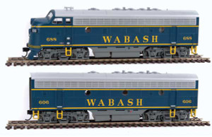 Walthers Mainline 910-19942 Wabash F7ab DCC/Sound #688/606 HO