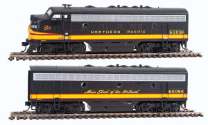 Walthers Mainline 910-19933 Northern Pacific F7AB DCC/Sound #6009A/6009B HO