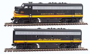 Walthers Mainline 910-19934 Northern Pacific F7AB DCC/Sound #6017A/6017C HO