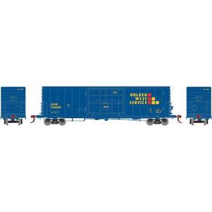 Athearn Genesis 69378 GWS 50'PC&F SS Box w/14' Plug Door #138005 HO