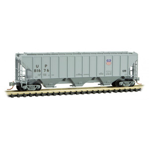 Micro-Trains 096 00 191 Union Pacific 3-bay High-side Covered Hopper #81676 N scale