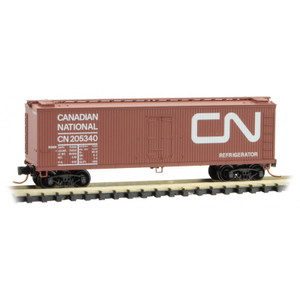 Micro-Trains 047 00 160 Canadian National 40' Double Sheathed Wood Reefer #205340 N scale