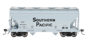 Intermountain 66511-18 Southern Pacific 2-bay Covered Hopper #490483 N scale