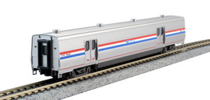 KATO N scale 156-0956 Amtrak Viewliner II Baggage Phase III Heritage #61058