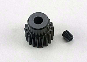 Traxxas 1918 Gear 18-T pinion (48-pitch) / set screw