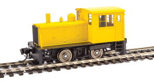Walthers Mainline 910-20003 Plymouth ML-8 Yellow DCC NO sound HO