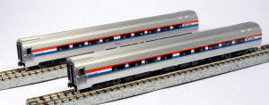 Kato N Scale 106-6291 Amfleet II Amtrak Phase III 2-car set A