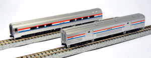 Kato N Scale 106-6292 Amfleet II Amtrak Phase III 2-car set B