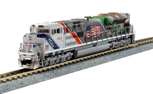 """Kato N Scale 176-1943DCC Union Pacific """"Spirit of UP"""" SD70ACe #1943 DCC"""