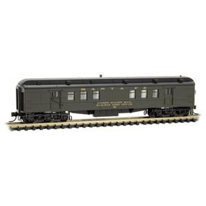 Micro-Trains 140 00 041 Santa Fe Heavyweight RPO car #78 N scale