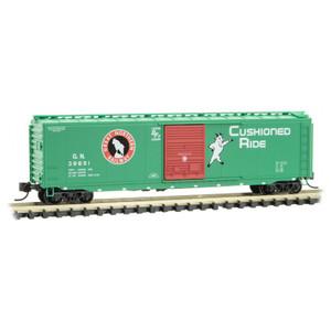 Micro-Trains 031 00 530 Great Northern 50' Box Car #39651 N scale