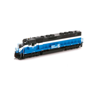 Athearn Genesis 63705 Great Northern SDP45 DCC/Sound #332 HO
