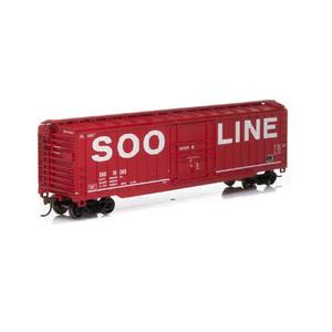 Roundhouse 40150 Soo Line 50' OB Plug Door Box #19369 HO