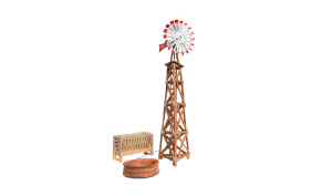 Woodland Scenics BR4937 Windmill  N scale Built-Up