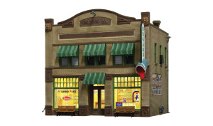 Woodland Scenics BR4943 Dugan's Paint Store N scale Built-Up