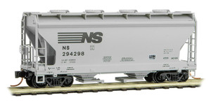 Micro-Trains 092 00 240 Norfolk Southern 2-bay Covered Hopper #294298 N scale