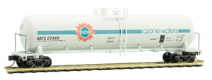 Micro-Trains 110 00 400 Ozone Waters 56' tank car #27349 N scale