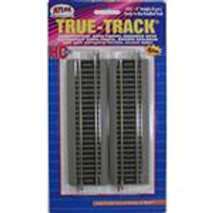 "Atlas 451 True Track Code 83 6"" Straight Track 4-pack HO"