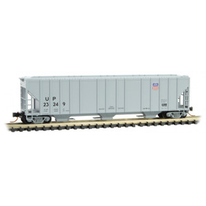 Micro-Trains 099 00 220 Union Pacific 3-bay High Side Covered Hopper #23249 N scale