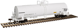 Atlas HO 20003449 Dow Chemical 17,360 Chlorine Tank Car #80010