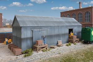 Walthers Cornerstone 933-4101 Brickworks Storage Building Kit HO