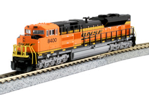 KATO N scale 176-8523-DCC BNSF SD70ACe #8400 DC