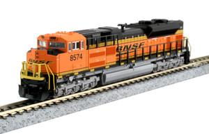 KATO N scale 176-8525-DCC BNSF SD70ACe #8574 DC