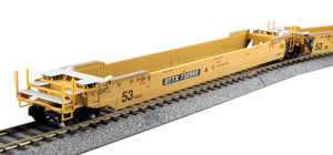 Kato 30-9051 TTX (Old Logo) Gunderson Maxi-IV Well Car #724792 3-pack