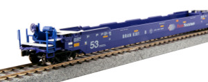 Kato 30-9055 Pacer Gunderson Maxi-IV Well Car #6020 3-pack