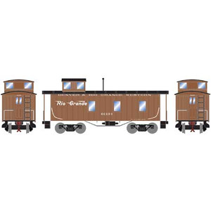 Roundhouse 17934 D&RGW 30' 3-window Caboose #01134 HO