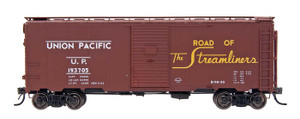 "Intermountain 45815-28 Union Pacific ""Route of the Streamliners"" 10'6"" Modified 1937 AAR Boxcar #193719 HO"