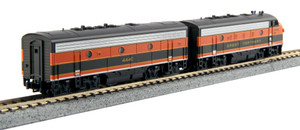 KATO N scale 106-0421-DCC Great Northern F7AB Road #444D & 444C