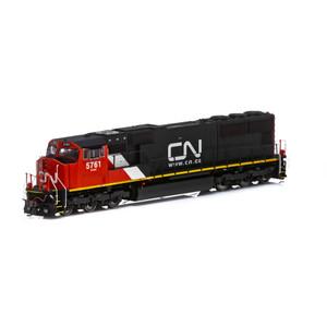 Athearn Genesis 69518 Canadian National SD70I DC #5761 HO