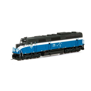 Athearn RTR 15080 Burlington Northern F45 #6606 DC N