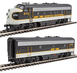 Walthers Mainline 910-19954 NS Norfolk Southern EMD F7AB #270/275 DCC/Sound HO
