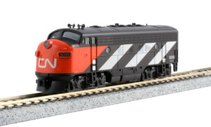 KATO N scale 176-2135-LS Canadian National F7A #9098 DCC Lok Sound